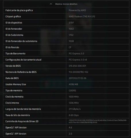 Computador Desktop Dell Gamer - Inspiron 5675 - Foto 5