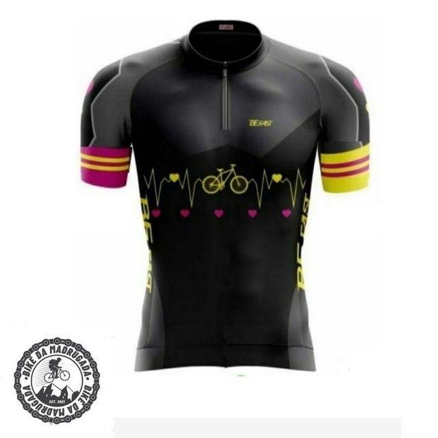 Promoção Camisa feminina Pro Tour ciclismo bike bicicleta dryfit manga curta
