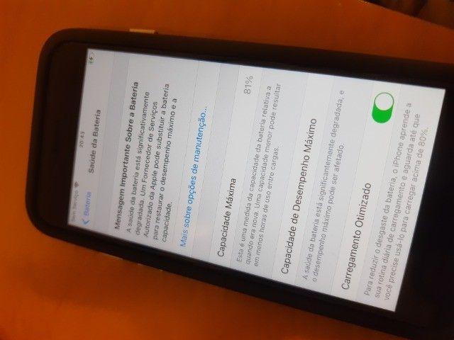 IPhone 7 em ótimo estado! - Foto 2