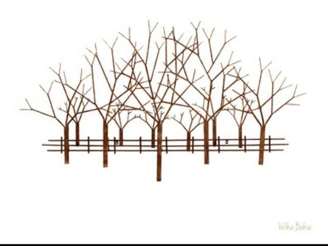 Escultura Árvore em aço da Velha Bahia - Foto 3