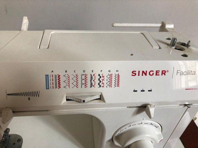 Máquina SINGER FACILITA Com Gabinete  - Foto 6