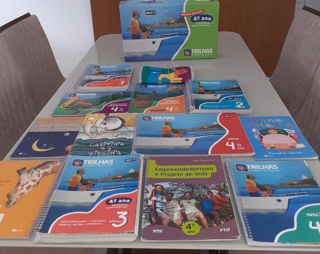 Livros sistema trilhas 4 Ano  - Foto 2