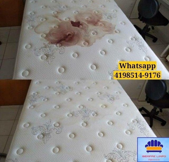 Limpeza e Higienização de estofados Carro Cadeira Sofá Colchão Tapete - Foto 2