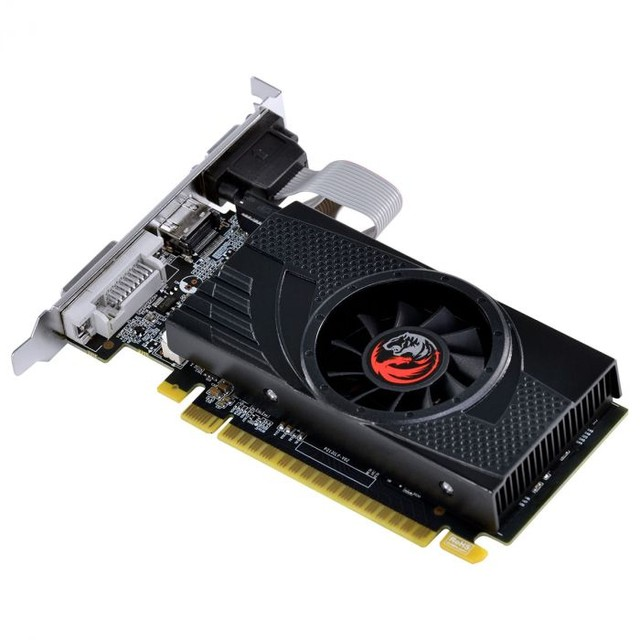 PLACA DE VIDEO NVIDIA GEFORCE GT 730 GDDR5 4GB 64BITS LOW PROFILE COM KIT INCLUSO  - Foto 3