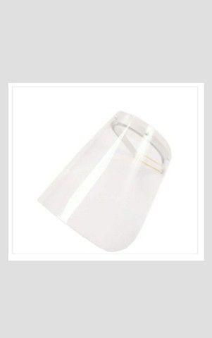Máscara para Proteção Facial de Acrílico Transparente + uma máscara de brinde