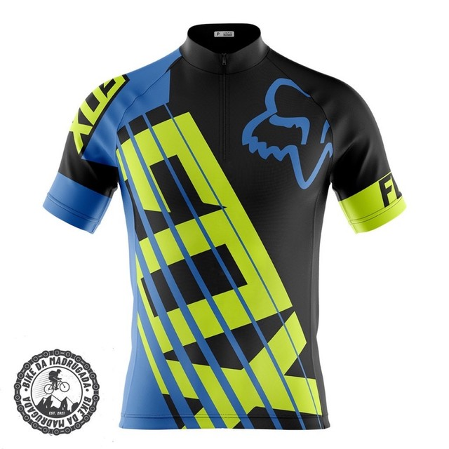 Promoção Camisa masculina ciclismo bike bicicleta dryfit manga curta