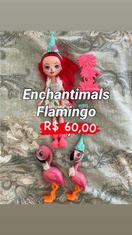 Boneca Enchantimals Flamingo