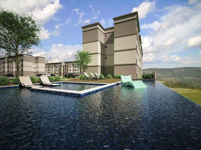Apartamento 2 Quartos, Àrea Verde Exclusiva, Garagem, Área de Lazer Completa