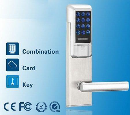 Promoção Lançamento - Fechadura Digital Eletrônica com senha, cartão e chave