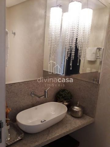 Lindo apartamento semi mobiliado, suite master mais duas suítes, em ótima localização! - Foto 13