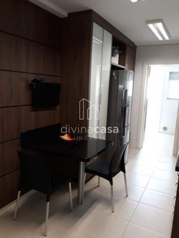 Lindo apartamento semi mobiliado, suite master mais duas suítes, em ótima localização! - Foto 16