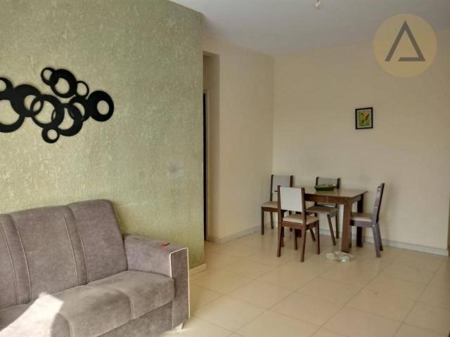 Apartamento com 2 dormitórios para alugar, 75 m² por r$ 1.000,00/mês - chácara mariléa - r