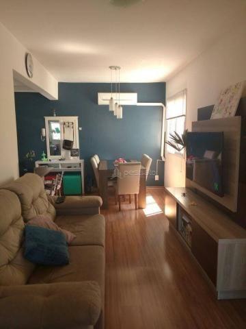 Apartamento com 3 dormitórios à venda, 69 m² por r$ 265.000,00 - vila monte carlo - cachoe - Foto 3