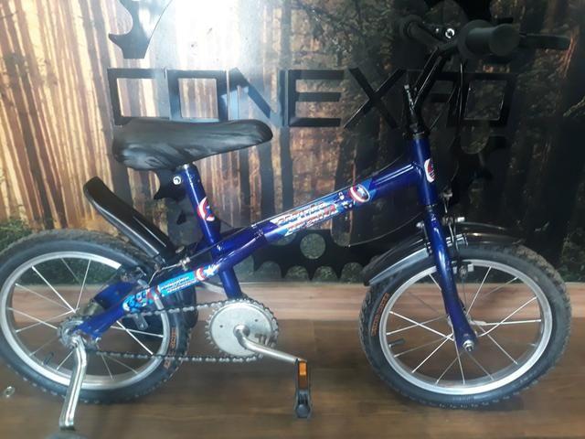 Bicicleta Infantil Aro 16 Capitão América