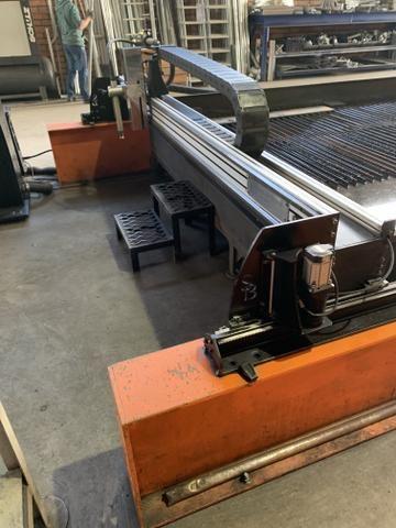 Máquina corte Cnc plasma e oxicorte Silber hypertherm 105