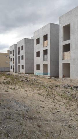 Apartamento com 2 dormitórios à venda, 44 m² por r$ 128.000 - thomaz coelho - araucária/pr - Foto 8