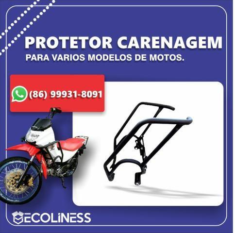 Protetor Carenagem - Pop, Titan, Fan 150-160, Xre 190, Xre 300, CB 250 Twister