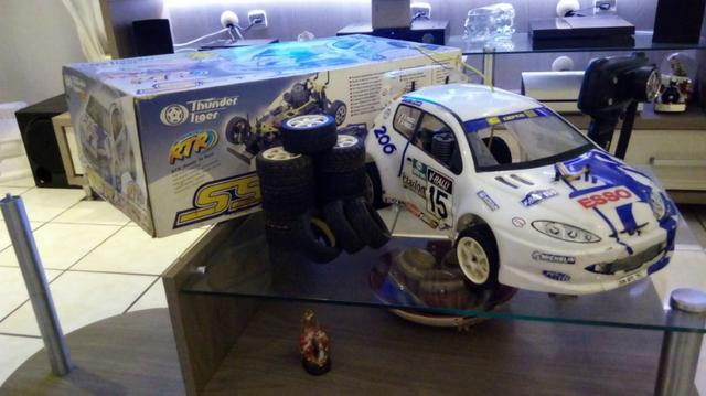 Automodelo Thunder Tiger SSR Peugeot 206 4WD Rally 1/10 Off-Road
