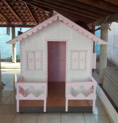 Casinha de Madeira Infantil - Foto 6