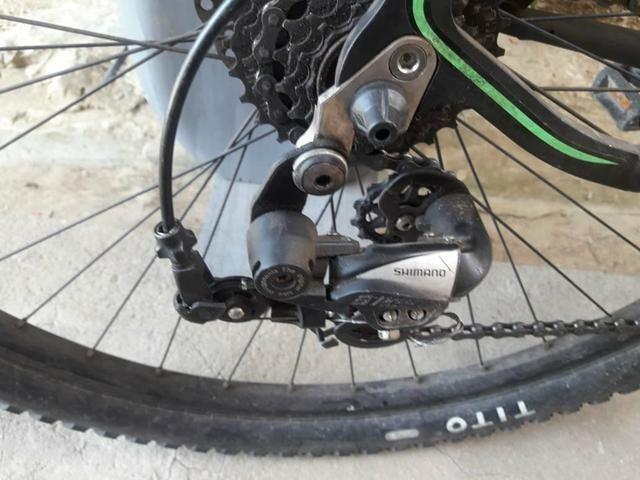 Bicicleta aro 29 muito bem conservada com nota fiscal