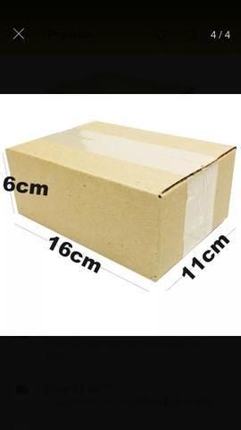 100 Caixas de papelão para E-commerce tipo maleta