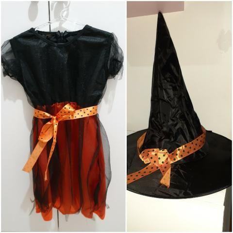 Fantasia Halloween Infantil Original 4 anos