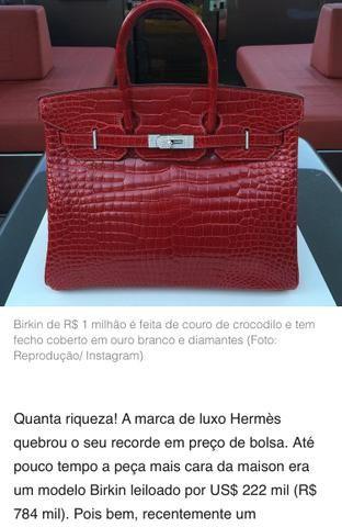 Bolsa Hermes - Foto 2