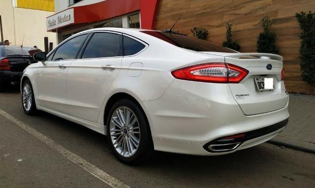 Ford\Fusion 2.0 Titanium 2.0 Turbo GTdi AWD - Top de Linha - Seminovo - Foto 5