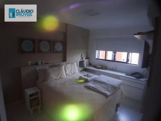 Apartamento com 3 dormitórios à venda, 110 m² por r$ 580.000 - jatiúca - maceió/al - Foto 10