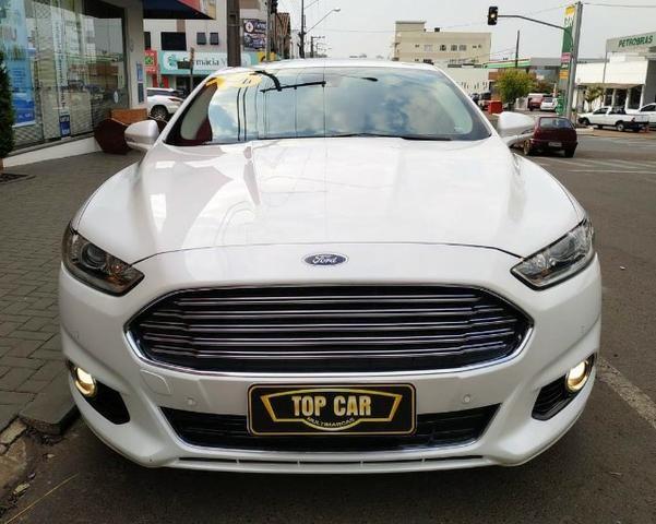 Ford\Fusion 2.0 Titanium 2.0 Turbo GTdi AWD - Top de Linha - Seminovo - Foto 4