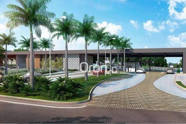 Terreno à venda, 722 m² por R$ 398.000,00 - Residencial Marília - Senador Canedo/GO - Foto 3