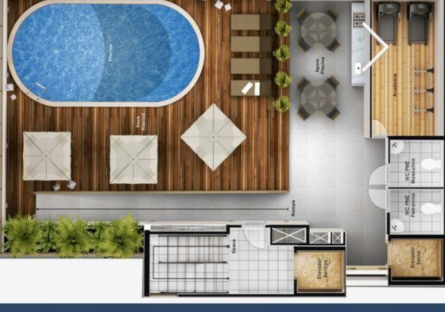 Vendo Flat novo hotel, mobiliado em manaira, 192.000 - Foto 2