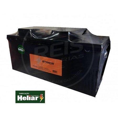 Baterias Strada Fabricação 150ah Heliar para caminhão ônibus utilitário nova  Delivery