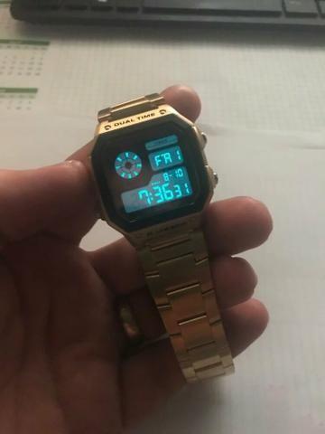 3718c029202 Relógio SKMEI Vintage Digital - Bijouterias