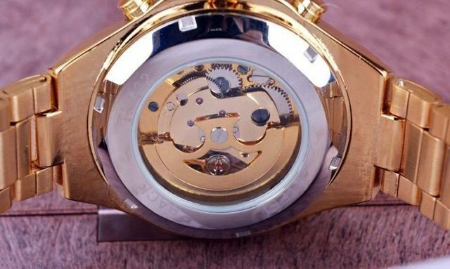 9729f6dfe55 Relogio winner de luxo automatico original - Bijouterias