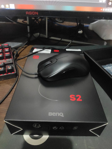 Vendo mouse Zowie S2