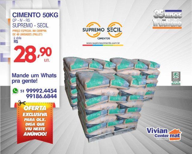 Cimento Supremo 50Kg - SuperOferta - Confira!