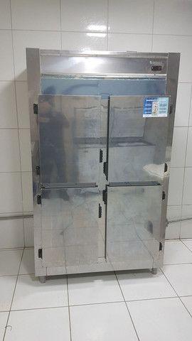Geladeira/Refrigerador Comercial Inox 4 Portas Cegas GREP-4P Gelopar<br><br> - Foto 3