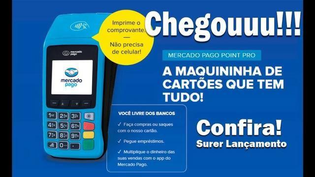 Maquininha de cartão de crédito e débito - Foto 5