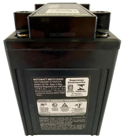 Bateria Motobatt Hd Sportster 883/1200 Bmw R1200 Gs 05-12 Hayabusa 1300 Mbtx12u Ytx14hbs - Foto 7