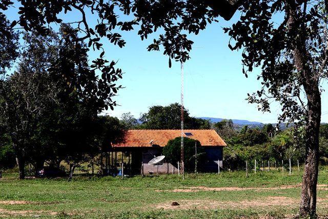 Fazenda com ótima localização, aceita permuta em área menor