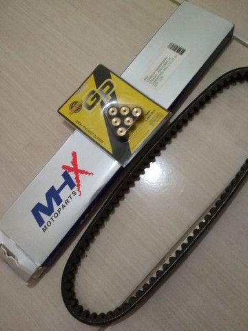 Vendo esse kit, correia e roletes para neo 2011/2012