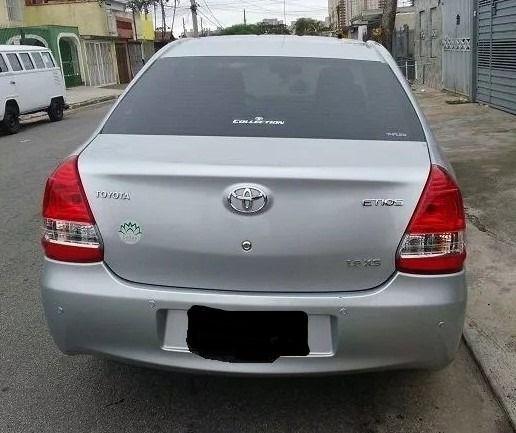 Toyota Etios 2013 s/ entrada - Foto 5