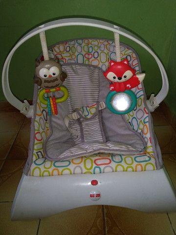Cadeira vibratória /Fisher price /infantil /usada - Foto 4