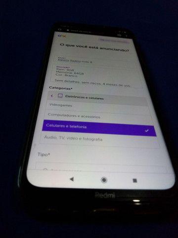 Xiaomi Redmi note 8 (troco em Contrabaixo) - Foto 2