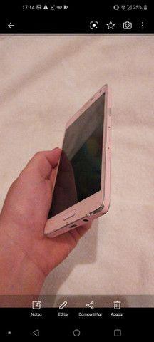 Celular Samsung Rosa carregador original e na caixa - Foto 2