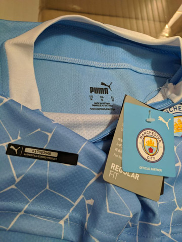 Camisa Manchester city 2020/2021 - Foto 2