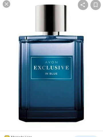 Avon exclusive in blue 75 ml