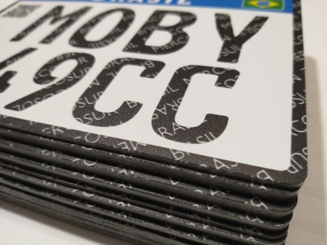 Placa Decorativa Moby 49cc - Sem alterações (Leia a descrição por favor) - Foto 7