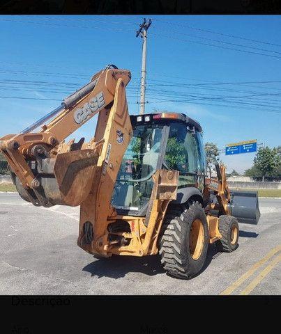 Retro Escavadeira Case 580n 4x4 - Foto 3